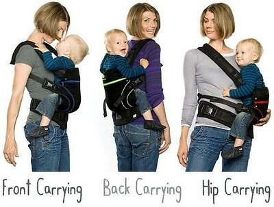 New Manduca Baby Carrier Newborn Infant Toddler Wrap Sling New Cotton 6 Colours