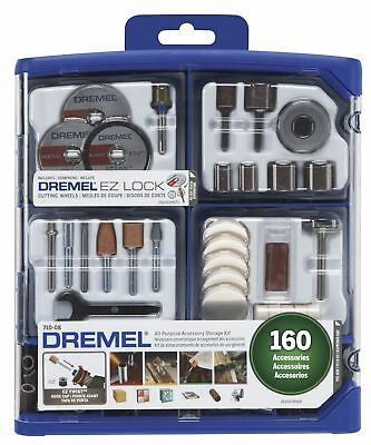 Dremel 710-08 All-Purpose Rotary Accessory Kit 160-Piece Accessory Set