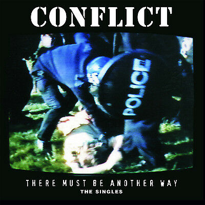 CONFLICT 'There Must Be Another Way' 2xLP singles comp vinyl gatefold +A2 poster
