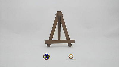 MINI WOODEN EASEL 6'' (16cm)  MANY COLORS ARTIST ART STAND FOLDABLE