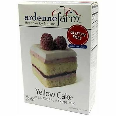Ardenne Farm Yellow Cake Mix, 16 Ounce -- 6 per case.