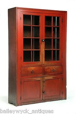 Midwestern Wall Cupboard | 19th cen. Americana