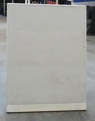 "CUBICLE PARTITION, 48"" WIDTH x 64"" HEIGHT, FABRIC COVERING, LIGHT BEIGE"