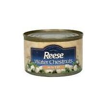 Reese Sliced Water Chestnut, 8 Ounce -- 24 per case.
