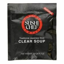 Sushi Chef Clear Soup 0.33 Ounce -- 12 per case
