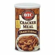 OTC Traditional Cracker Meal, 10 Ounce -- 6 per case.