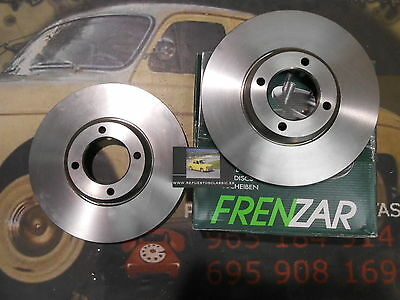 FZ614357 2 DISCO FRENO FORD TRANSIT 80, 100, 115, 120 254 mm REF. 6135249