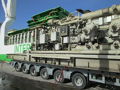 WH 64 Cooper Superior Natural Gas Compressor    IP/HP 2 STAGE RECIPROCATING