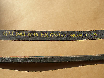 NOS GM Belt 1964-1974 396 400 402 454 ci  Corvette Camaro Chevelle Nova 9433735
