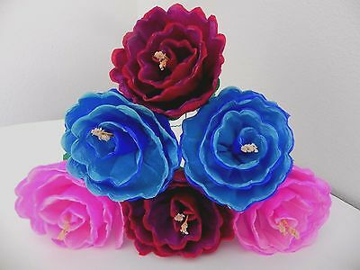 Large mexican paper flowers set of 6 multicolor we make special mexican paper flowers set of 6 multicolor we make special orders mightylinksfo