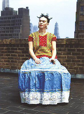 Frida Kahlo 6 Gloss Poster Print - Size A3 297X420Mm Plus Free Surprise Poster