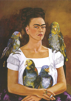 Frida Kahlo 7 Gloss Poster Print - Size A3 297X420Mm Plus Free Surprise Poster