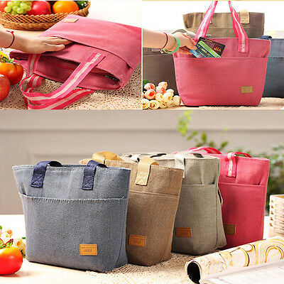 Waterproof Insulated Thermal Cooler Lunch Box Picnic Carry Tote Storage Bag