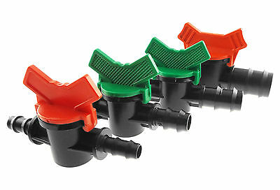 In-Line Valve For Automatic Garden  Irrigation Systems,(All Sizes)Sent From Uk!