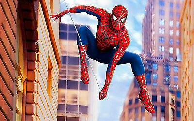 Spiderman 2 Gloss Poster Print - A3 297X420Mm +Free Surprise Poster / Marvel