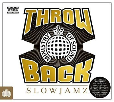 Throwback Slowjamz - Ministry Of Sound by  New Music CD
