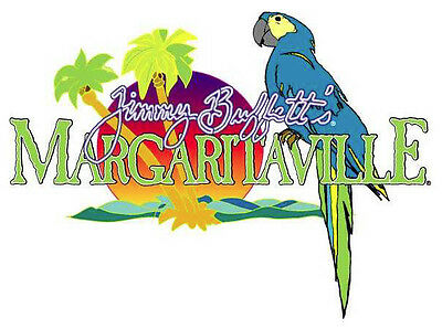 "Margaritaville Jimmy Buffetts Vinyl Sticker Decal 10"" (full color)"