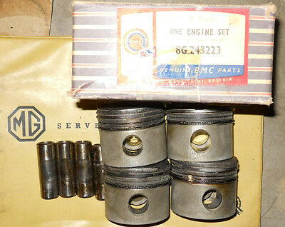 Set of MOWOG Competition A Series Pistons 8G2432. +.020. 12:1 Comp.... \