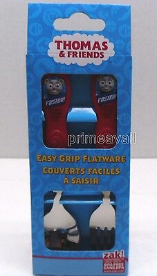 Thomas & Freinds Easy Grip Flatware  *new* *free Shipping*