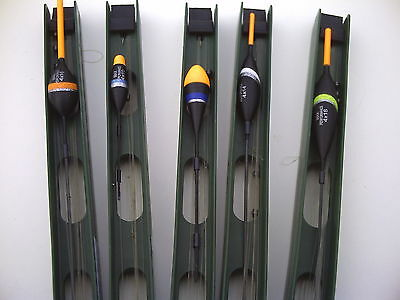 5 x Assorted Commercial Fishery Big Fish Pole Rigs. ReadyTo Use.(B) For Carp.