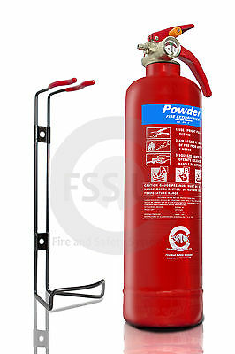 1Kg Dry Powder Abc Fire Extinguisher Home Office Car Kitchen. Kitemarked
