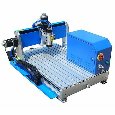 800W CNC Router RS-4060 Engraver Engraving Drilling/Milling Machine Ball Screw
