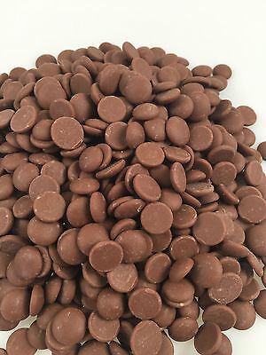 1Kg Milk Chocolate Callets Barry Callebaut Real Choc Buttons