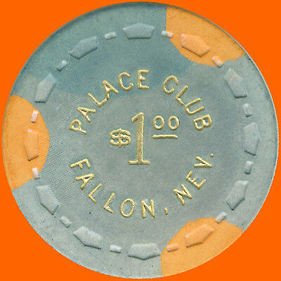 Palace Club $1 1964 Obsolete Casino House Chip Las Vegas Nv - Free Shipping