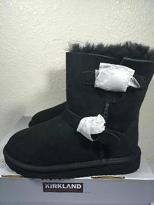 NEW Kirkland Signature Girl's Shearling Buckle Boots ~ Various Sizes