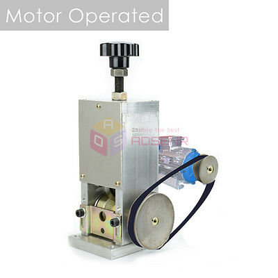 NEW Manual & Motor Operated Wire Cable Stripper Stripping Recycle Copper Machine