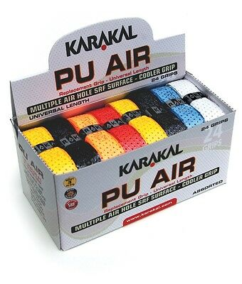 Karakal PU Air Universal Replacement Grip 24 Pack