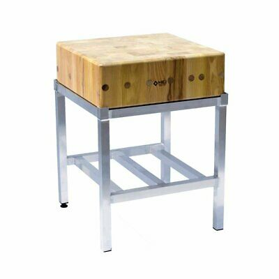 Butchers Block - 2ft by 2ft (60x60cm) With Stand