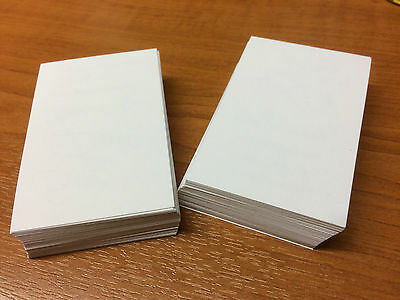 Blank business card white blanks 250gsm x 100 print your own business cards