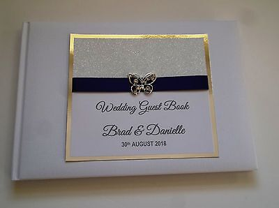 Personalised Guest Book suitable for ANY OCCASION Wedding Engagement Birthday