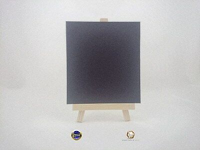 WOODEN EASEL 26 cm (10'') WITH LAMINATED BLACKBOARD