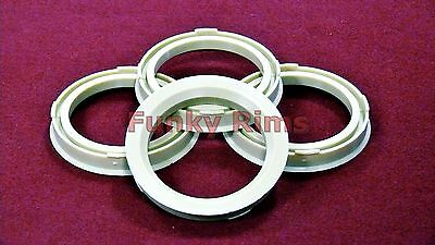 Spigot Rings for Aftermarket Alloys 73.1 - 56.6mm Vauxhall Astra Corsa Tigra