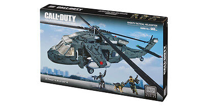 Mega Bloks Call of Duty Ghosts Tactical Helicopter #6858 (NEW)