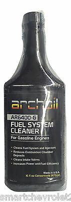 Archoil AR6400-G 16oz Professional Fuel System Cleaner For Gasoline Engines