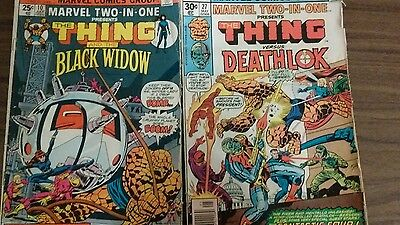 The Thing & The Black Widow Vol. 1 #10 And The Thing Versus Deathlok Vol.1 #27