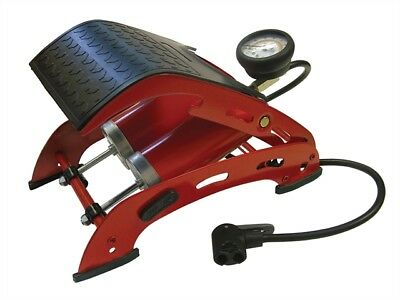 Foot Pump Double Cylinder with Gauge - Car Maintenance & Valeting  - FAIAUFPUMP2