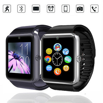 Smart Wrist Watch SIM Card GSM GPRS Phone Mate For IOS Apple Android HTC Samsung