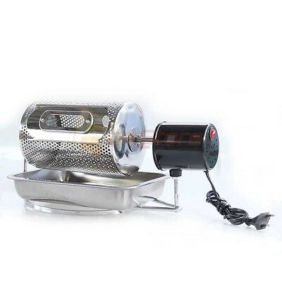 NEW Electric Coffee Roaster Home Kitchen Machine Tool Made of Stainless Steel