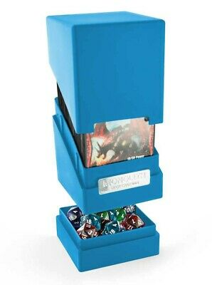 Ultimate Guard - Monolith Deck Case 100+ Blue - Gaming Box - Monolith Box