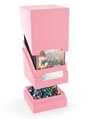 Ultimate Guard - Monolith Deck Case 100+ Pink - Gaming Box - Monolith Box
