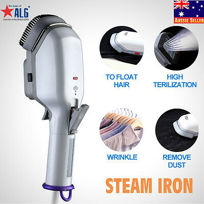 Travel Family Handheld Fabric Steam Iron Laundry Electric Steamer Brush
