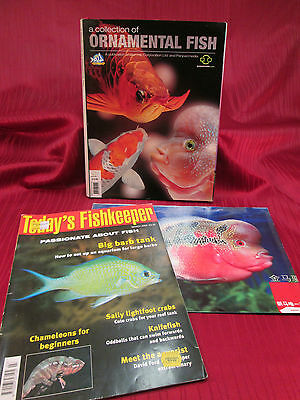 Today´s Fishkeeper + A Collection of Ornamental Fish, 2 Hefte, Sprache:Englisch