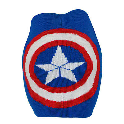 Captain America Crest Roll Down Hat