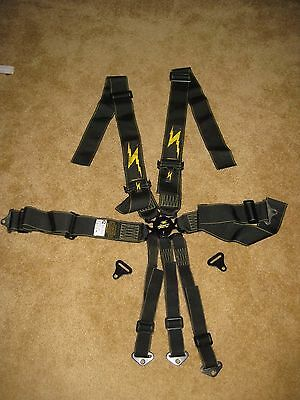 RoadRace IMPACT RACING seat belt 7 point CAMLOCK  3 inch Pull-Up race harness