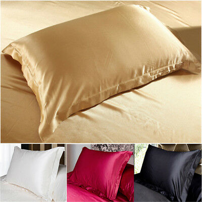 100% Silk Pillowcase Waterproof Eco-Friendly Smooth Texture 48X74 cm