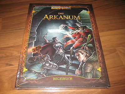 Midgard 5te Edition Das Arkanum Regelbuch Hardcover Pegasus Press 2008 Neu OVP